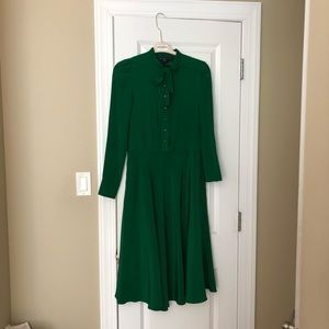 Green Silk Marc by Marc Jacobs ankle length dress